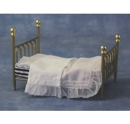Messing bed, 2 persoons