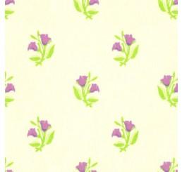 Poppenhuis behang Rosebud, roze