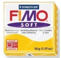 Fimo soft zonnegeel