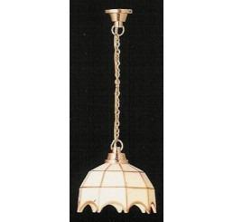Hanglamp Tiffany wit