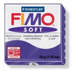 Fimo soft kleurnr 63, paars,