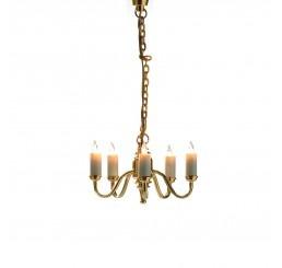 vijf armige plafond lamp
