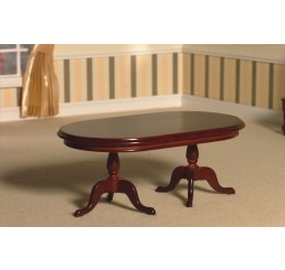 Twin Pedestal Dining Table (M)