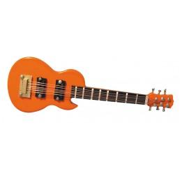 Oranje Gibson gitaar