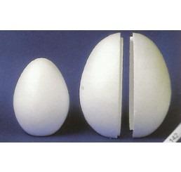 Tempex eieren 21cm, 2 delig