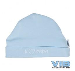 VIB muts-Hartje papa, blauw