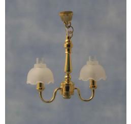 Hanglamp met 2 bollen - DE78546