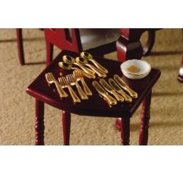 Gouden bestek, 12 delig