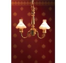 Grote dubbele tulplamp