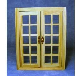 dubbele deur met beslag