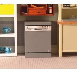 Zilveren vaatwasmachine