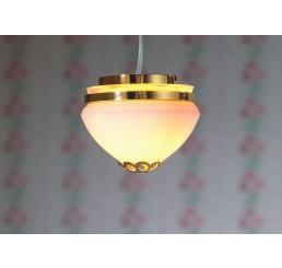 plafonniere klein melkglas - 7410