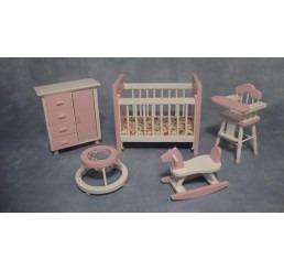 Babykamer, 5 delig