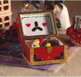 kist met kerstspullen