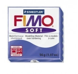 Fimo soft brilliant-blauw