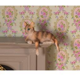 Cleo de gestreepte poes/kat