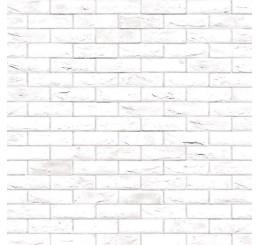 Vel witte muurstenen