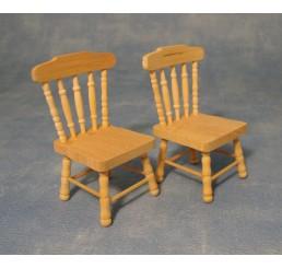 Keuken stoelen, 2 stuks