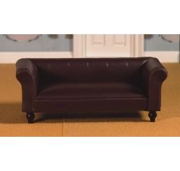 Klassieke leren sofa