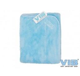 VIB Baby Deken Blauw WELLSOFT