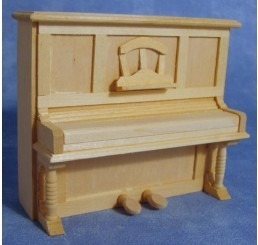 Piano, blank hout