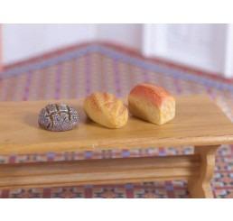 Lekkere broodjes, 3 stuks