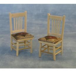 Eetkamer stoelen, 2 stuks