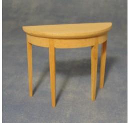 Halfrond tafeltje