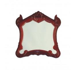 Houten lijst met spiegel