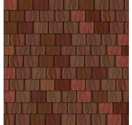 Steenpapier in rood bruin 950*430 mm