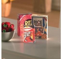 Paketten cornflakes, 3 stuks