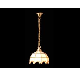 Hanglamp, Tiffany, wit