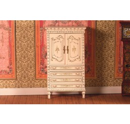 hand geschilderd cabinet