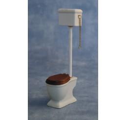 Toilet met stortbak