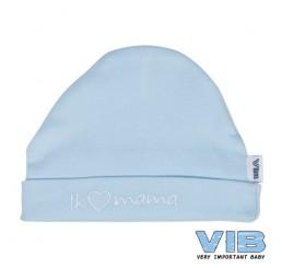 VIB muts-Hartje mama, blauw
