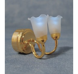Dubbele tulp wandLamp LED