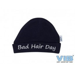 Muts Rond Bad hair day Navy