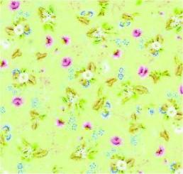 Rococo Behang Silk Paper Groen