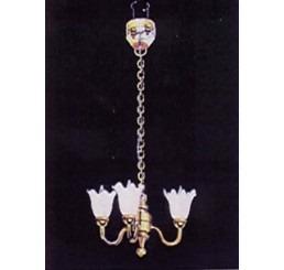 Hanglamp met drie tulpen