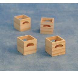 Opberg boxen, 4 stuks