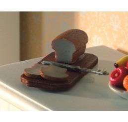 Brood, mes en snijplank