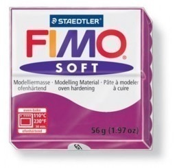 Fimo soft paars-violet