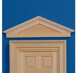 bovenstuk driehoek voor een deur