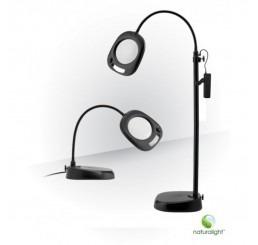 Natura LED tafel/vloer loeplamp